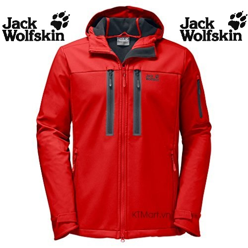 Jack Wolfskin Northern Star Mens Softshell Jacket 1304151 size M, L, XL US