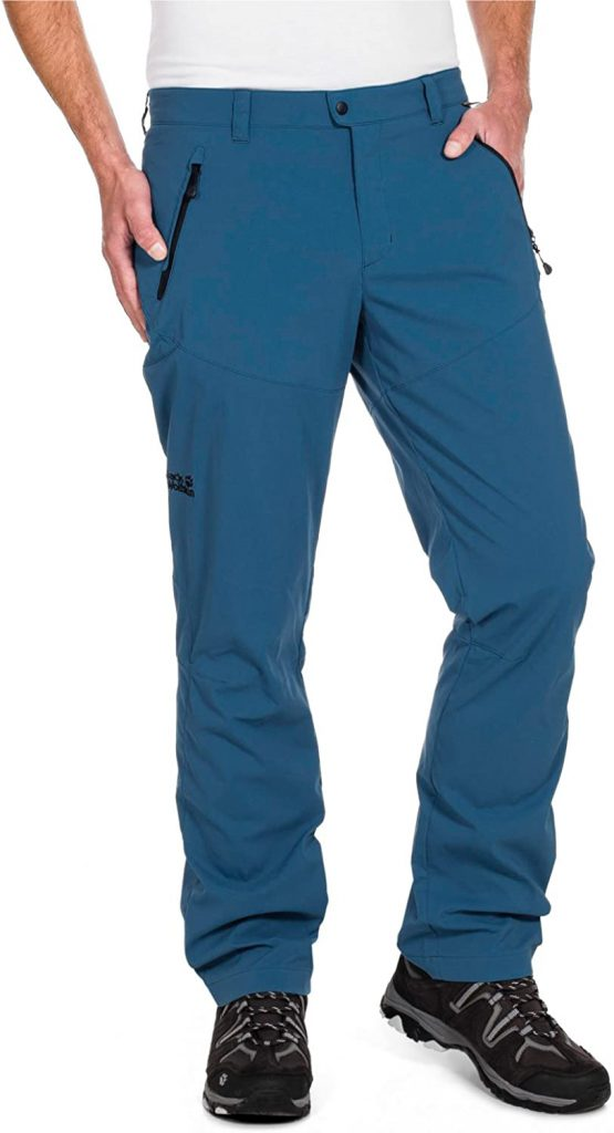Quần softshell siêu nhẹ Jack Wolfskin 1501921 Activate Light Pant size 35/32