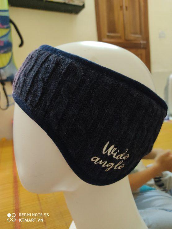 W. Angle Wool Winter Headband