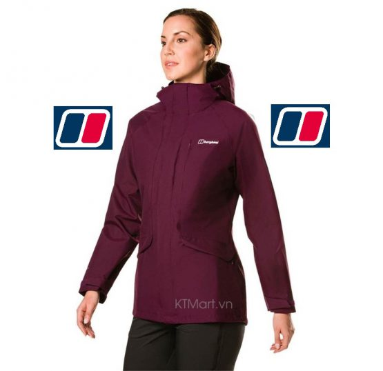 Berghaus Women's Hillmaster Gore-Tex Waterproof Jacket 422176 Berghaus size M US