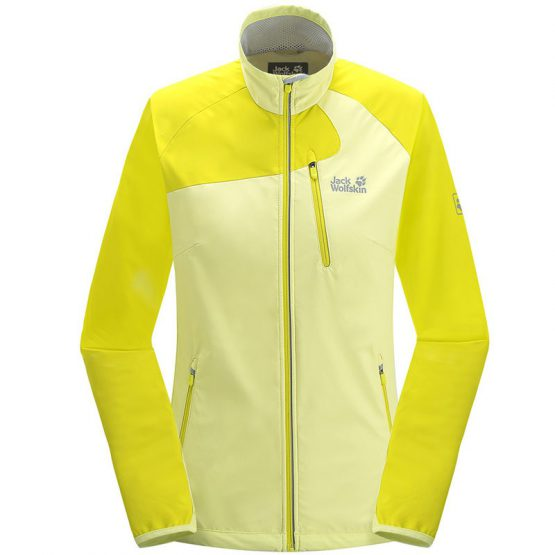 Áo khoác Jack Wolfskin 1302281 women's softshell jacket Exhalation size M