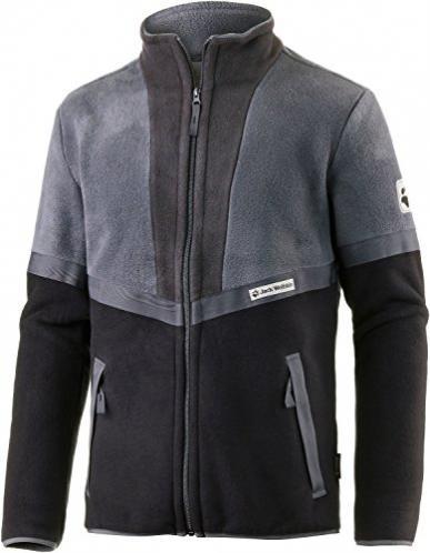 Áo nỉ nanuk 200 Jack Wolfskin 1704321 Sunset Jacket dark iron (men) size S