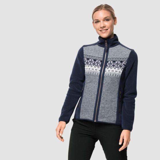 Áo nỉ Jack Wolfskin 1708071 Okinawa Fleece Jacket W Size  M