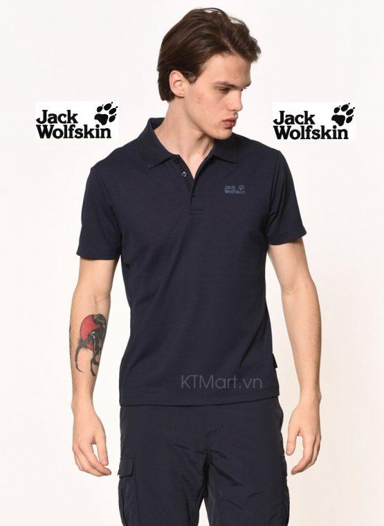 Jack Wolfskin Men's Three Towers Polo 1805461 Jack Wolfskin size M Asia