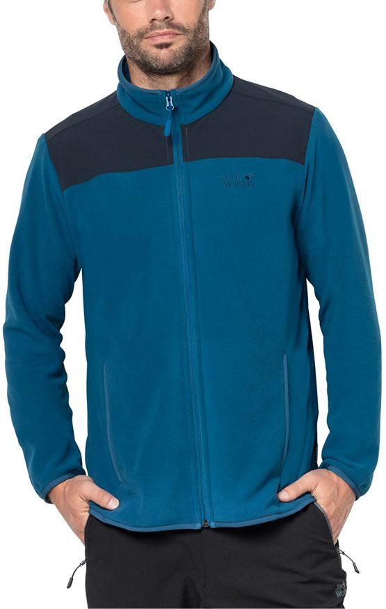 Áo nỉ Jack Wolfskin Performance Flex Jacket glacier blue (men) (1706321-1121) size L
