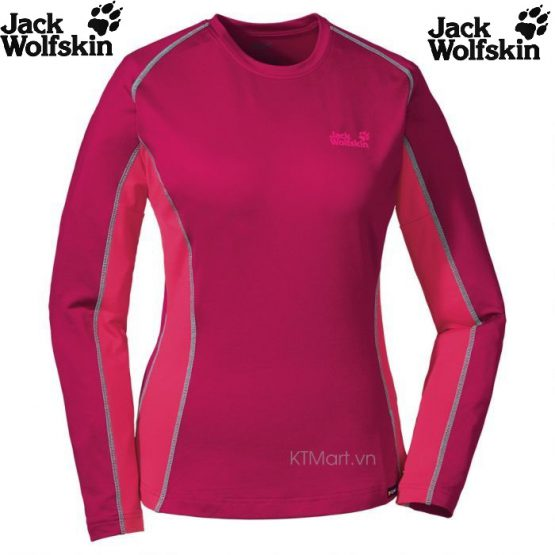 Jack Wolfskin Women's Dynamic Long Sleeve 1801491 Jack Wolfskin size M US