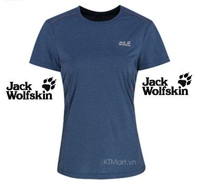 Áo thun cộc tay Jack Wolfskin Women's Short Sleeve T-Shirt 5010821 Jack Wolfskin size S EU