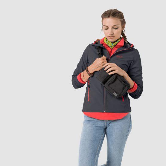 Áo chống thấm Jack Wolfskin Women's Turbulence Jacket 1303652  size L US