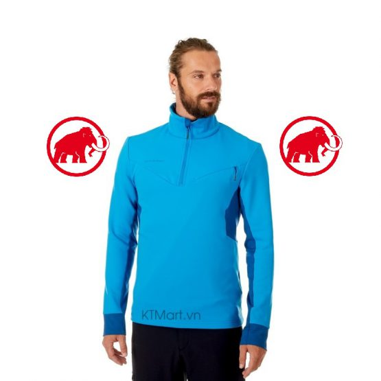 Mammut Polar Cruise ML Half Zip Pull Men 1014-00290 Mammut size L US