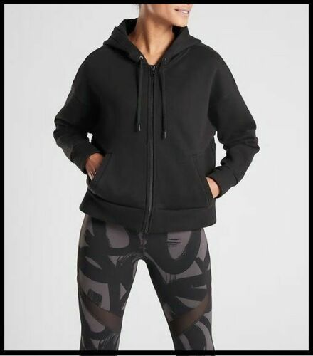 Áo hoodie NEW ATHLETA BLACK 486257 TENACITY HOODIE SWEAT SHIRT