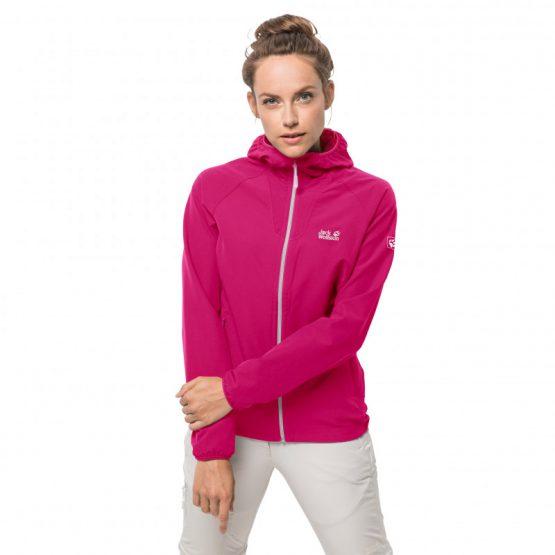 Áo chống thấm Women's softshell Jack Wolfskin 1305881 Kalari Trail Jacket size M