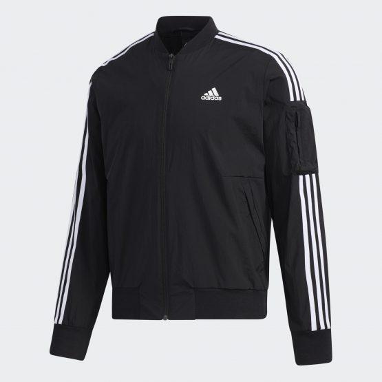 Áo khoác thể thao Adidas GH4802 Male CORE/NEO training 3-STRIPES sports jacket size M