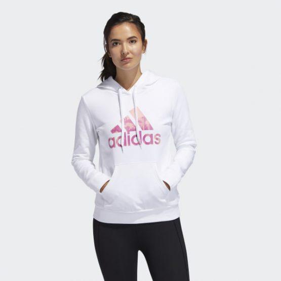 Áo khoác lót nỉ Adidas Universal Logo Graphic Hoodie White GE0299 size M