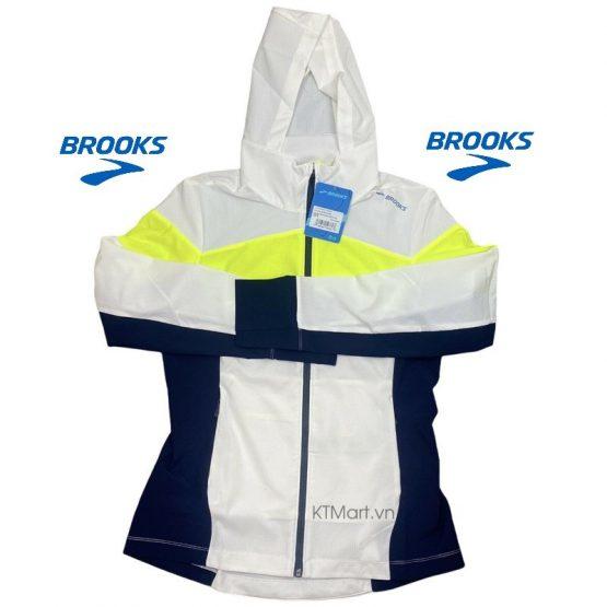 Áo gió chạy bộ Brooks Women's Elite Canopy Jacket 221268 Brooks size M