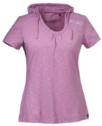 Áo cộc tay Jack Wolfskin T-Shirt Women Travel Hoodie 1802571 Soft Violet M us