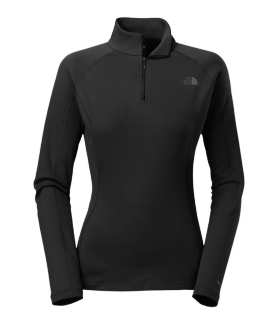 Áo THE NORTH FACE  CL76 WOMEN'S WARM LONG-SLEEVE ZIP NECK size M