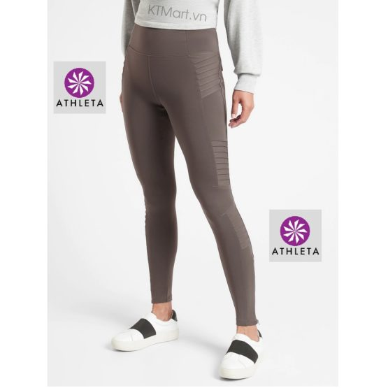 Athleta Delancey Moto Tight 598323 Athleta size XXS, XS, S, M