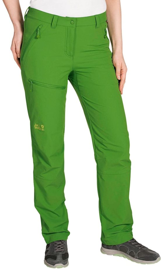 Quần du lịch Jack Wolfskin 1501481 Activate Women's Softshell Trousers size 38Eu