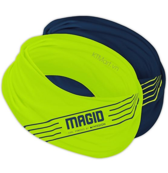 Khăn ống MAGID Cooling Neck Gaiter & Face Cover Powered By Mission