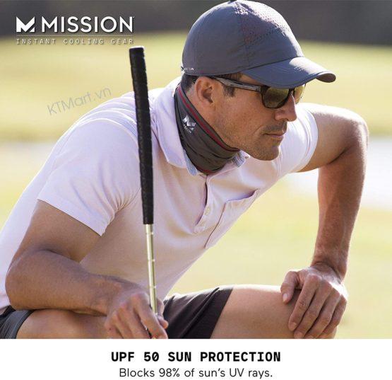 Mũ siêu làm MÁT MISSION Hydroactive Max Laser-Cut Performance Hat