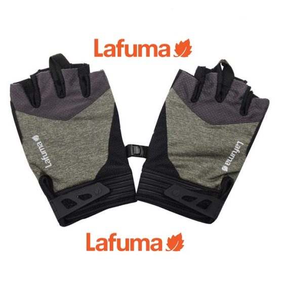 Lafuma Men's STRETCH COOLING Outdoor Half Gloves size M