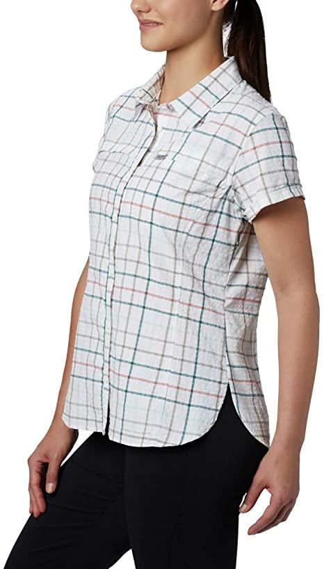 Áo sơ mi chống nắng Columbia 1888241 Women's Silver Ridge™ Novelty Short Sleeve Shirt L