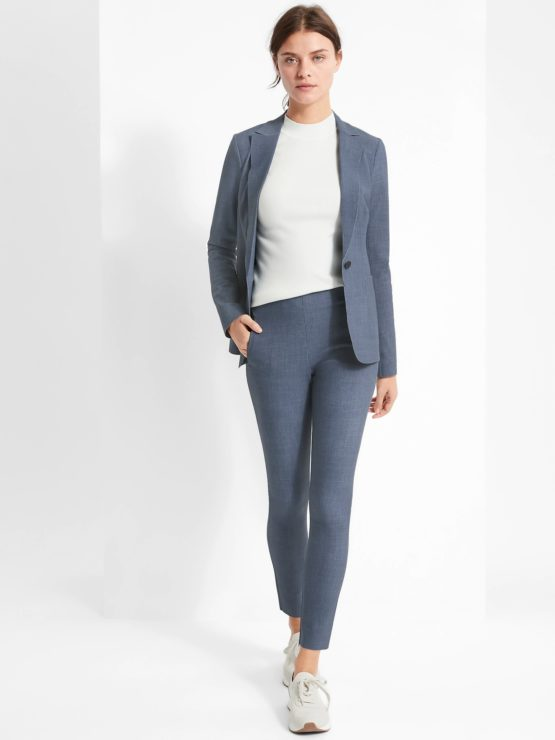 Banana Republic 668800 High-Rise Skinny-Fit Luxe Sculpt Pant size 6