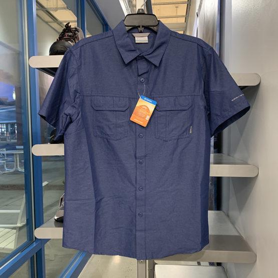 Columbia XM7704 Mens Omni Wick Button Shirt size S, M, L
