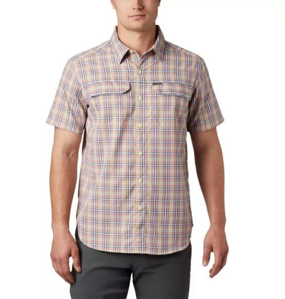 Columbia 1838901 Men's Silver Ridge™ 2.0 Multi Plaid Short Sleeve Shirt size XL