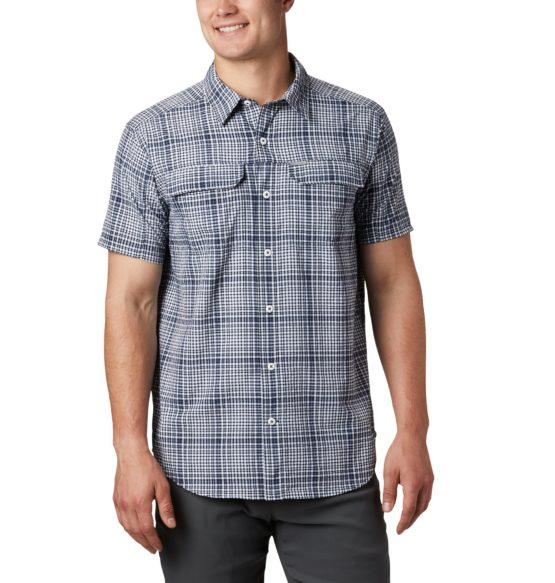 Columbia 1884871 Men's Silver Ridge™ Short Sleeve Seersucker Shirt size Xl, XXl