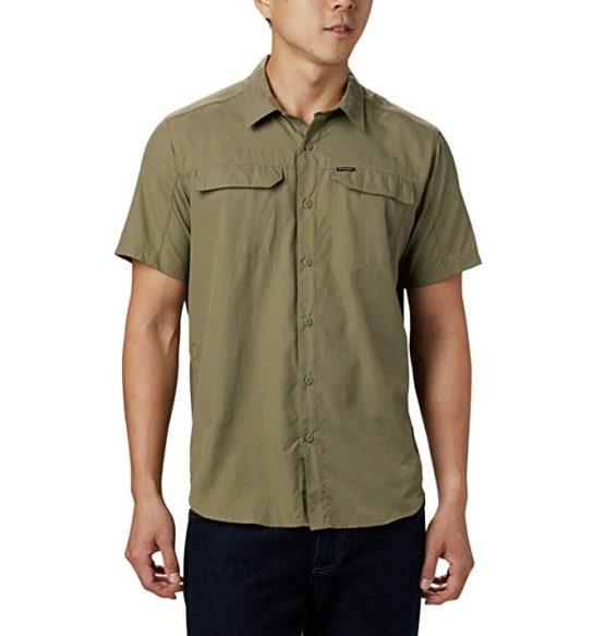 Columbia AO0647 Silver Ridge 2.0 Short Sleeve Mens Short Sleeve Shirt sage size L