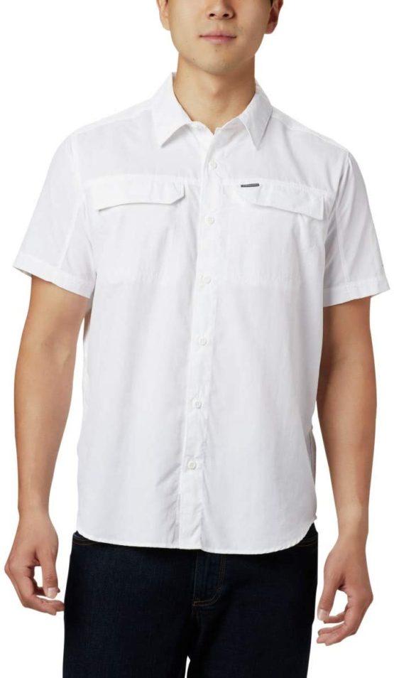 Columbia AO0647 Silver Ridge 2.0 Short Sleeve Shirt Gömlek white size S