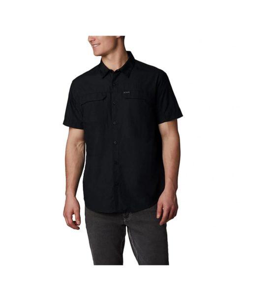 Columbia Silver Ridge™2.0 Outdoor Men's Short Sleeve Shirt AO0647 black size S