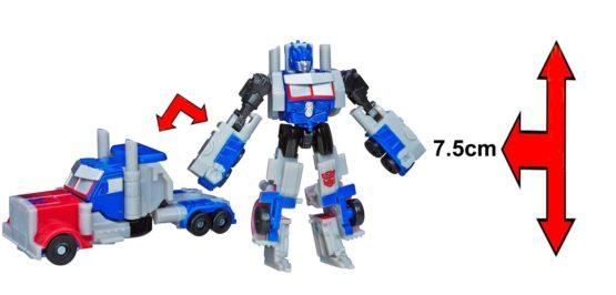 Đồ Chơi Hasbro Robot Transformers Age Of Extinction Mini – Optimus Prime (Box)