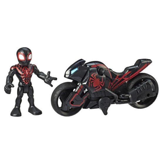 Hasbro E6261 Playskool Heroes Marvel Super Hero Adventures Kid Arachnid Web Wheels