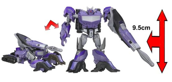 Hasbro Transformers Prime Beast Hunters Shockwave A3392