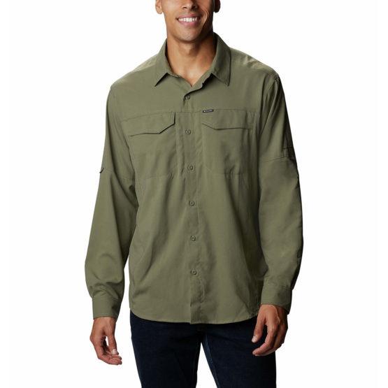 Columbia 1839311 Men's Silver Ridge™ 2.0 Long Sleeve Shirt Stone Green size L