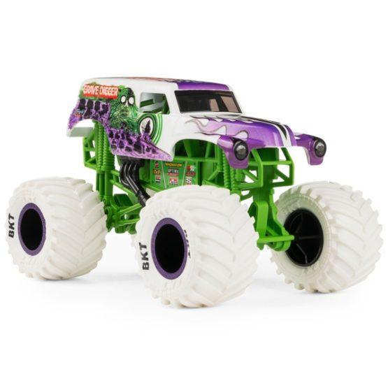 Xe Monster Jam Official Grave Digger Monster Truck 1:24 Die-Cast Vehicle