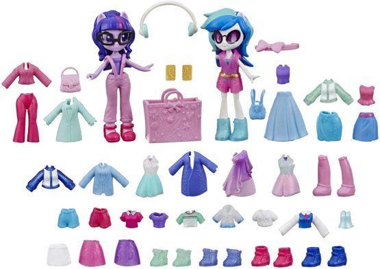 Hasbro My Little Pony Equestria Girls Fashion Squad Twilight Sparkle and DJ Pon-3 E9243