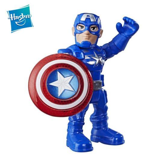 HASBRO E7927 PLAYSKOOL MARVEL SUPER HERO ADVENTURES CAPTAIN AMERICA