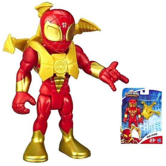 Hasbro E6259 PLAYSKOOL MARVEL SUPER HERO ADVENTURES IRON SPIDER