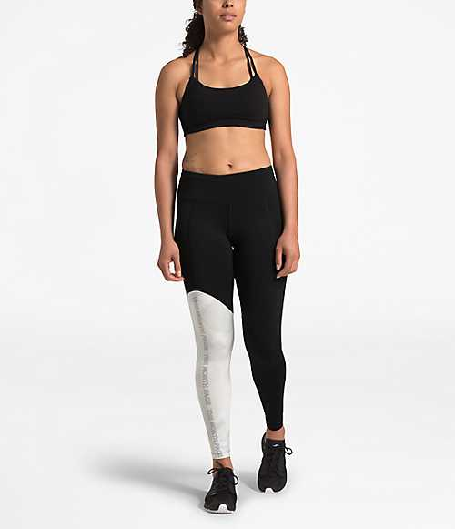 The North Face Nf0a3x47 Women's NSE Infinity Train Mid-Rise Tights size M