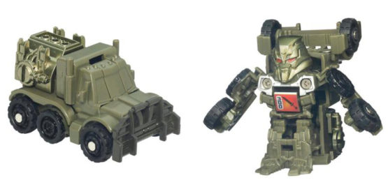 Transformers Bot Shots Series 1 Megatron Battle Game Figure