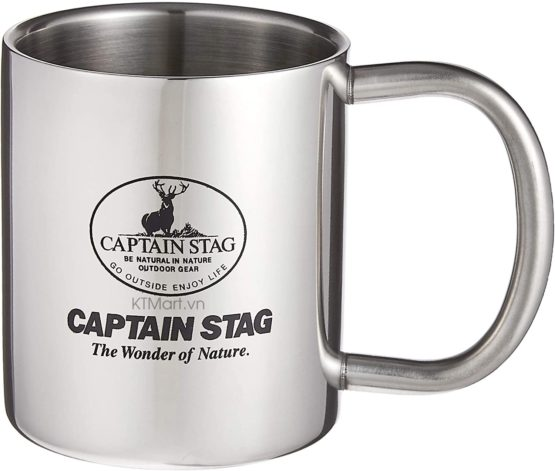Cốc giữ nhiệt Captain Stag Palau Double Stainless Mug 310ml M-1250