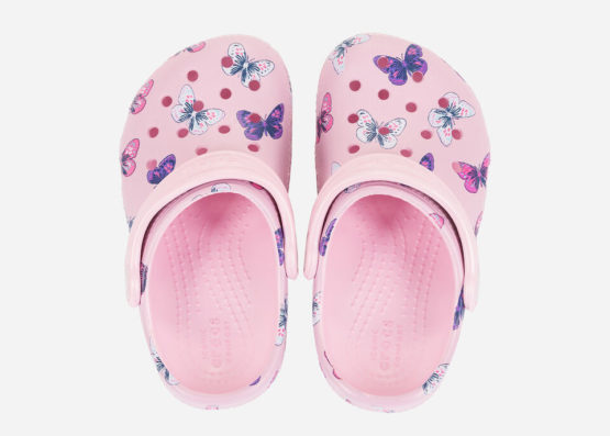 Crocs Classic Butterfly Clog PS 206414-6GD size C11