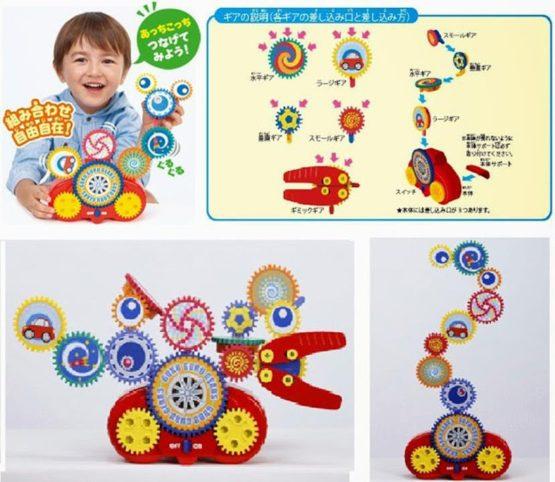 Đồ chơi Bánh răng xoay tròn – Takara Tomy Tomica 482970 Turning Gears