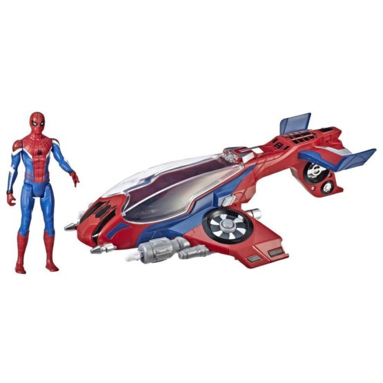 Hasbro Spider-Man: Far From Home Spider Jet Vehicle E3548