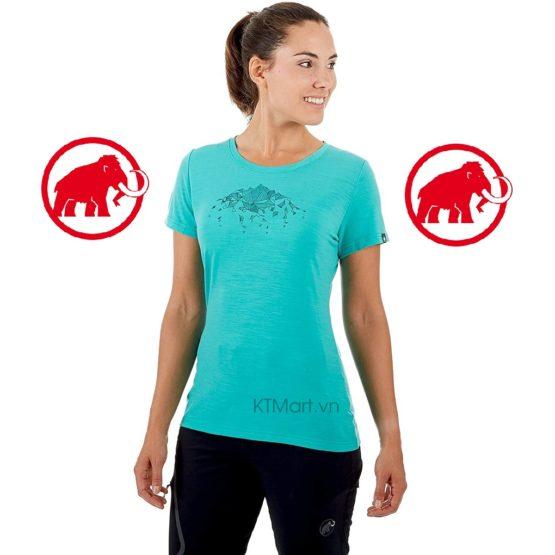 Mammut Alnasca T-Shirt Women 1017-00080 Mammut size S
