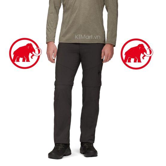 Mammut Hiking Zip Off Pants Men 1022-01260 Mammut size 32