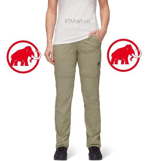 Mammut Hiking Zip Off Pants Women 1022-01270 Mammut size 6US